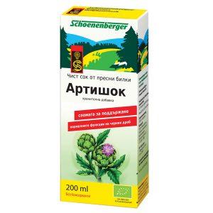 био сок от Артишок Schoenenberger