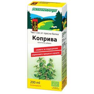 био сок от Коприва Schoenenberger