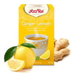Био чай Джинджифил и лимон Yogi Tea