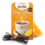 Био чай джинджифил и портокал