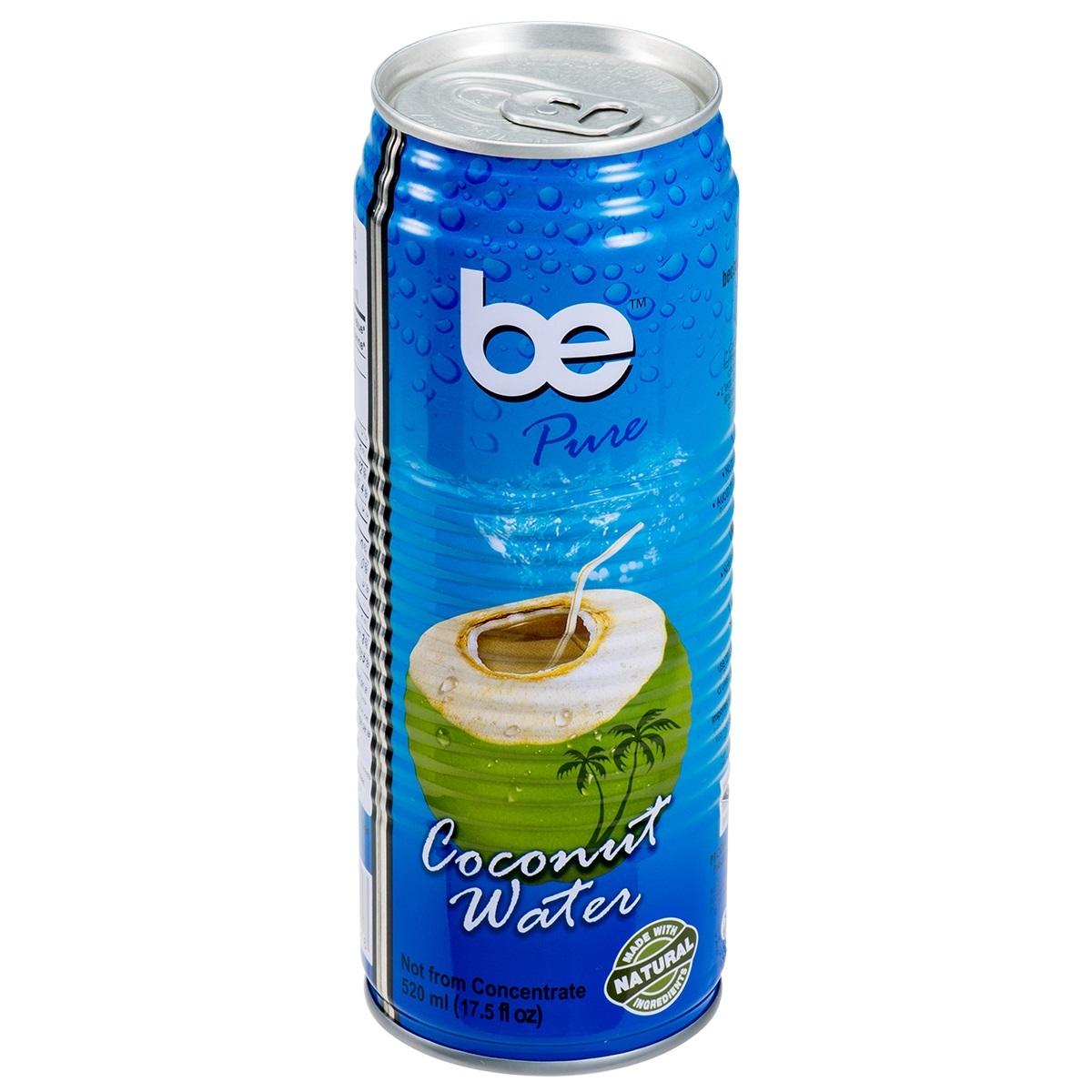 Кокосова вода BE PURE 520 мл