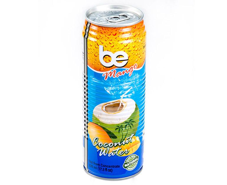 Кокосова вода с манго 520 мл