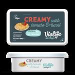 Веган крема сирене домати и босилек Violife