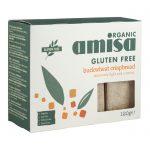 Био хрупкави безглутенови хлебчета от елда Amisa 100 гр