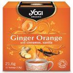 био чай Джинджифил и портокал Yogi Tea