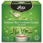 био Зелен чай и лимонена трева Yogi Tea