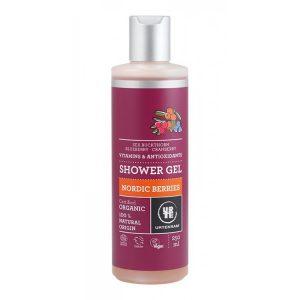 urtekram shower gel nordic berries 1