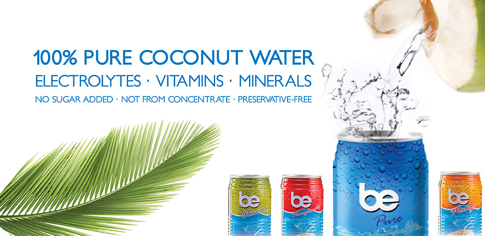 Be Coconut water