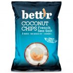 Био кокосов чипс с френска морска сол Bett'r