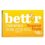 Дъвки без захар Tropical Fruits Bett'r 17 гр.