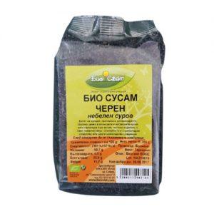 Био-сусам-черен-Биосвят-200-гр