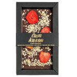 Черен шоколад с ягоди и лешници Casa Kakau70 гр.