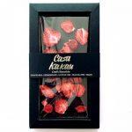 Черен шоколад с ягоди Casa Kakau 70 гр.