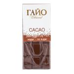 Шоколад млечен CACAO БЕЗ ЗАХАР ГАЙО 40 гр.